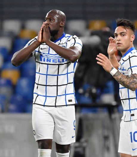 Romelu Lukaku malchanceux, l'Inter freiné par le Napoli de Dries Mertens