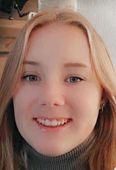 De veertienjarige Lotte uit Almelo.