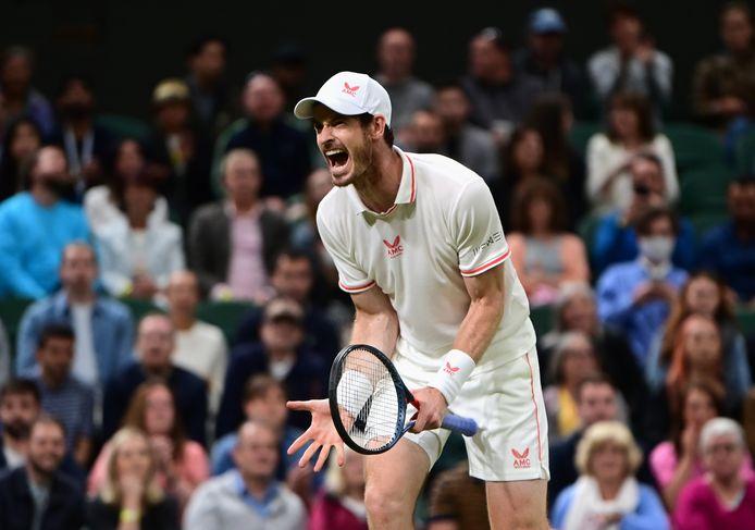 Andy Murray heeft alweer twee partijen gewoon op Wimbledon.