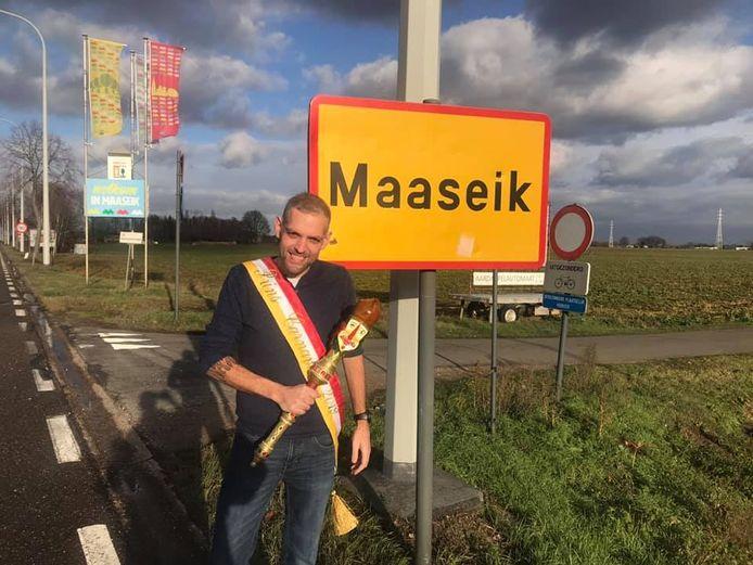 Bart De Meyst is in Maaseik.