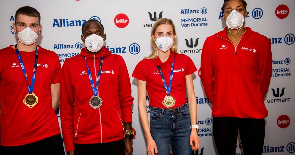 5 médailles belges aux championnats d'Europe d'athlétisme en salle: