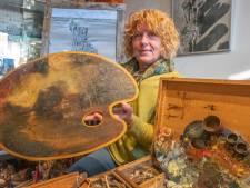 Bijzonder schilderspalet in Zierikzee: hulpmiddel blijkt zélf een kunstwerk