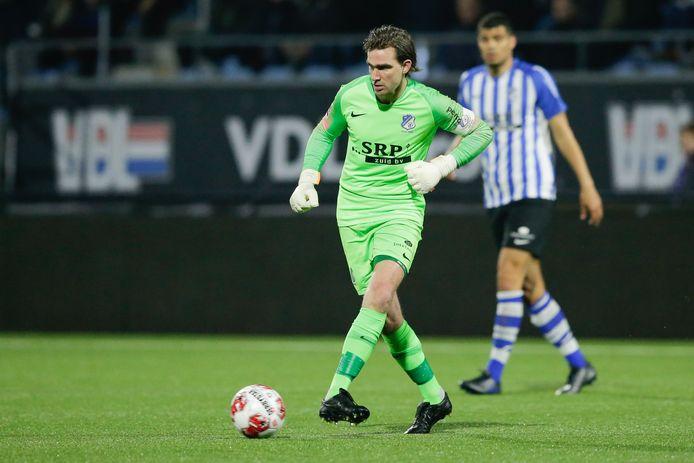 Doelman Ruud Swinkels blijft bij FC Eindhoven