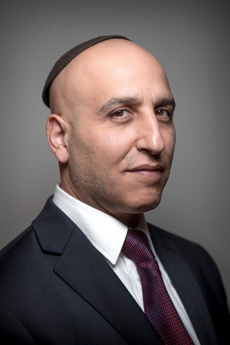 Menachem Sebbag. Beeld Mike Roelofs