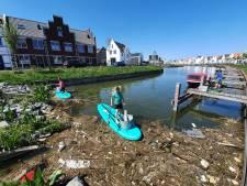 Harderwijk heeft zijn eigen plastic soep in wateren rondom de stad: 'Je schrikt je echt een ongeluk'