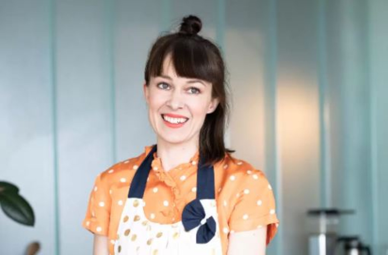 Jenni Häyrinen (40), wiens ovenschotel wereldwijd fenomeen werd. Beeld Marko Oikarinen
