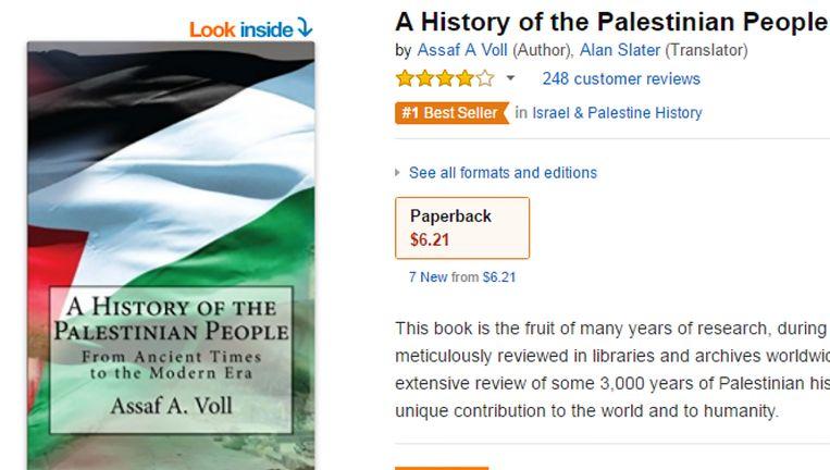 Screenshot van de advertentie op Amazon. Beeld