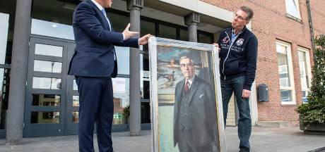 Verloren gewaande schilderij Paul Backus weer terug bij de familie