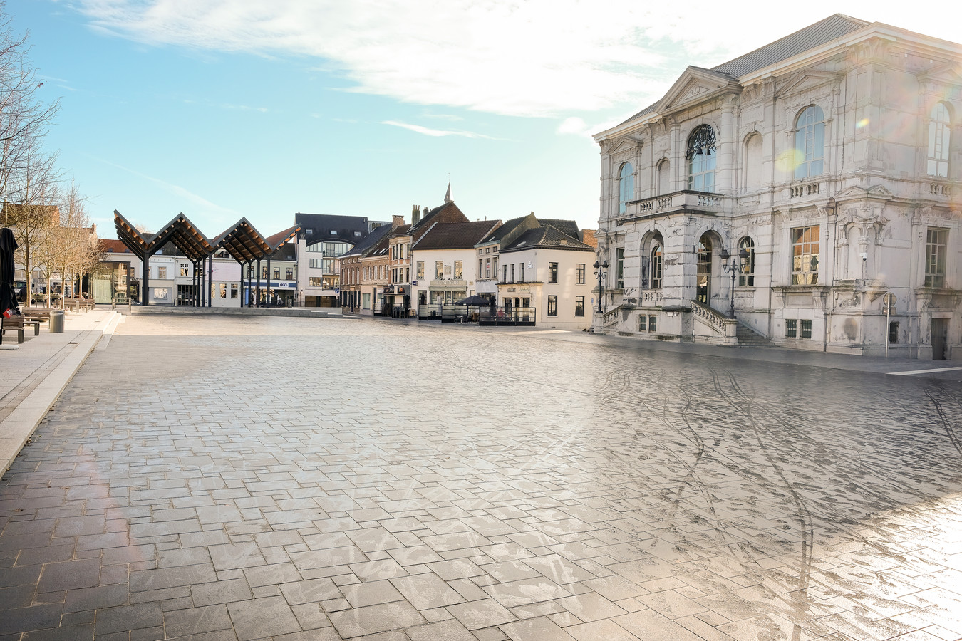 Illustratiebeeld stadhuis Vilvoorde.