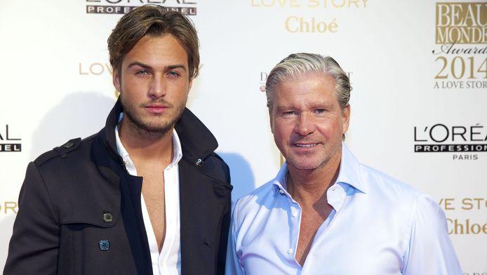 Dave en zijn vader Dries.