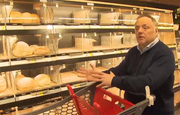 Marc Van Ranst trok met VTM NIEUWS naar de winkel en legt uit hoe je het risico op besmetting kan beperken.