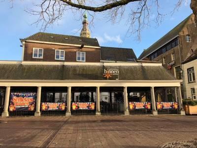 Weer 'Stillekes Hossen' bij de vishal in Breda