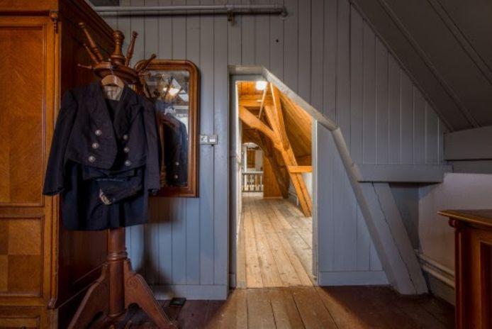 Een beeld van de personeelskamers in Huis Doorn.