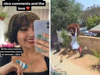 """17-jarige die beer van muur duwde om haar honden te beschermen: """"Doe niet zoals ik"""""""