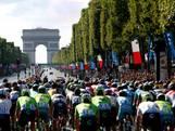 Sprinters gaan strijden na Frans defilé