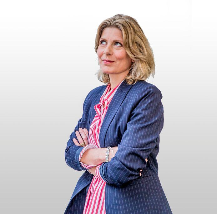 Renate Wennemars, columniste bij de Stentor.