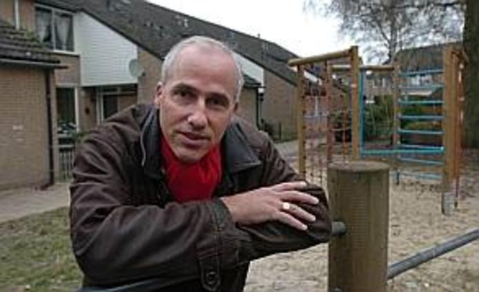 Leo Janssen van de eenmansfractie Lokaal-Hengelo.  Foto: Charel van Tendeloo.