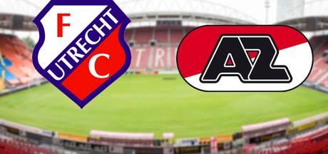 FC Utrecht heeft wonder nodig tegen AZ