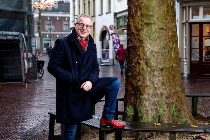 Harm Wesselink maakt zich hard om LHBTI'ers zich  op hun gemak te laten voelen in Zutphen.