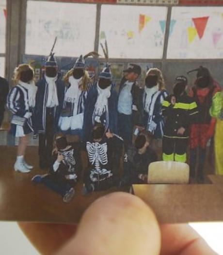 Zwartgestifte gezichtjes op schoolfoto: 'Dit soort verhalen maakt me verdrietig'