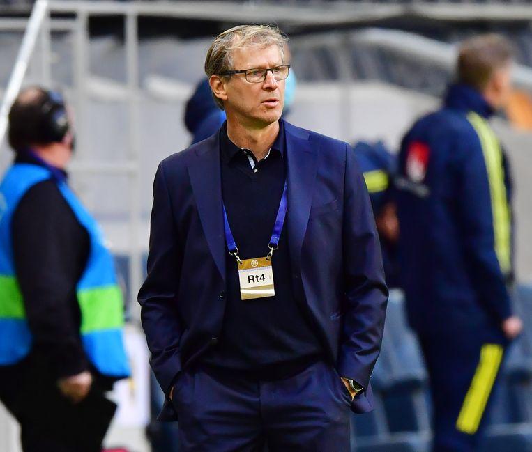 Markku Kanerva: 'We zijn de underdogs, maar we zijn klaar om te verrassen.' Beeld TT News Agency via REUTERS