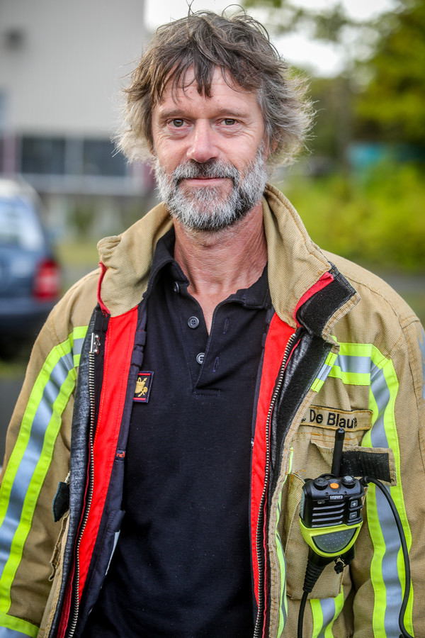De Brugse brandweerman Hans De Blauwe valt internationaal in de prijzen.
