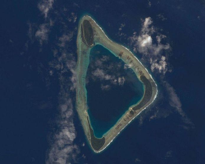 Het atol Namoluk.