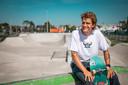 Le Belge Axel Cruysberghs, aligné en skateboard aux JO, l'une des cinq nouvelles disciplines, rêve de décrocher une médaille.