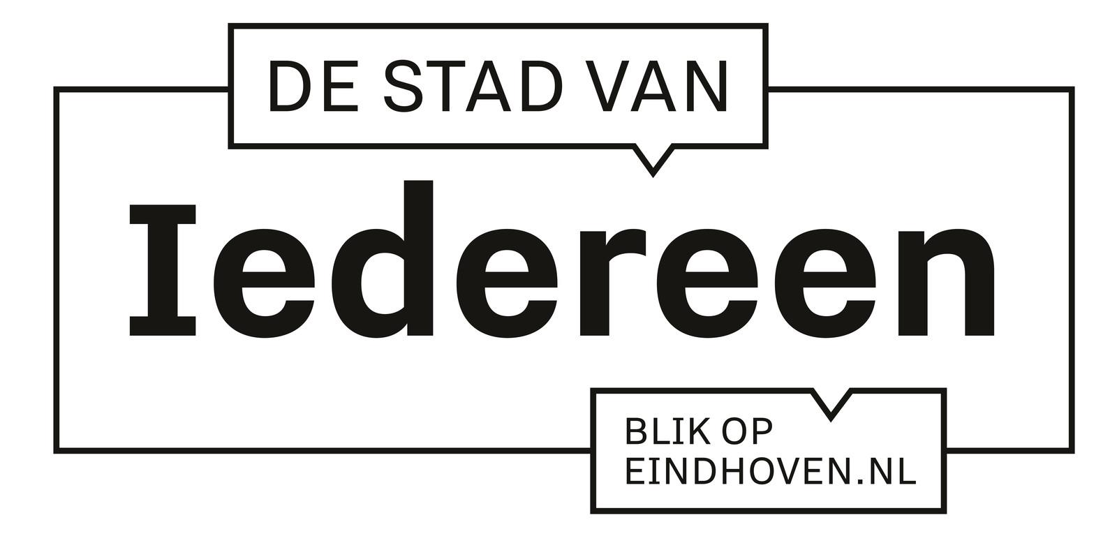 Logo voor dialoog over brede welvaart in Eindhoven