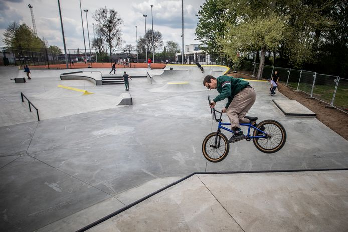 Skaters, maar ook BMX'ers en steppers kunnen er terecht.
