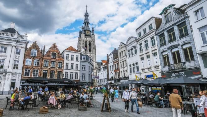Kortrijk wordt weer stad vol terrasjes (als het mag)