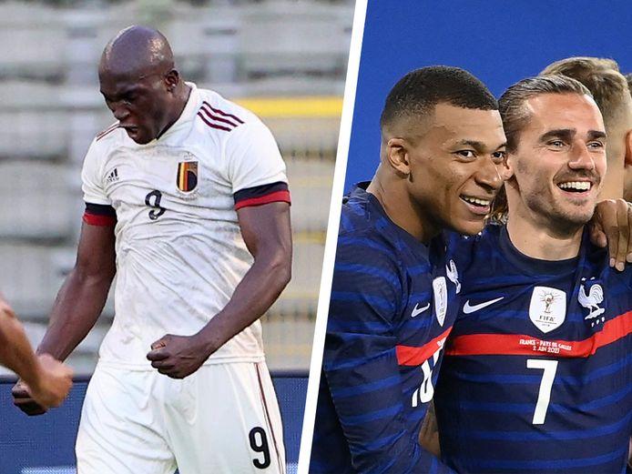 Lukaku en Mbappé worden volgens onze watchers twee spilfiguren tijdens dit EK.