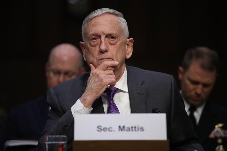 De Amerikaanse minister van defensie James Mattis zei eerder dit jaar ook dat hij de marine flink wil opschudden. Beeld AFP