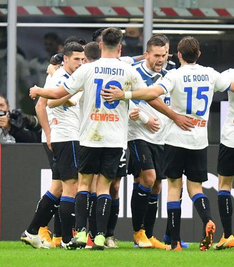 Milan blijft drama ondanks blamage tegen Atalanta bespaard