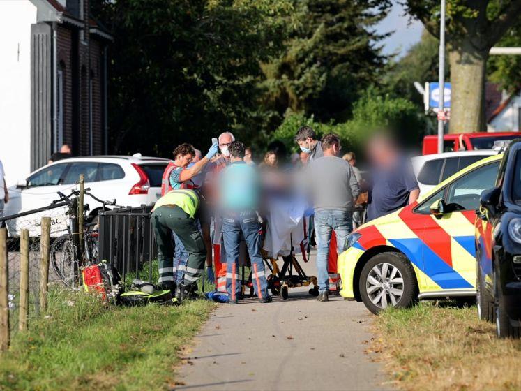 Voetganger geschept en gelanceerd bij ongeluk in Heerde