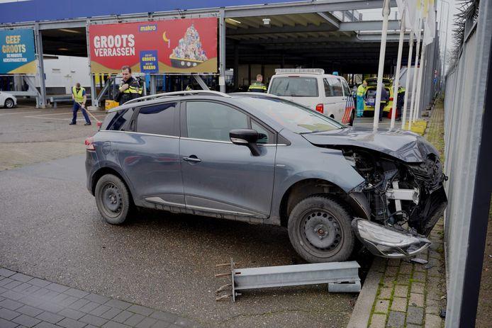 Het ongeluk bij de Makro in Nijmegen.