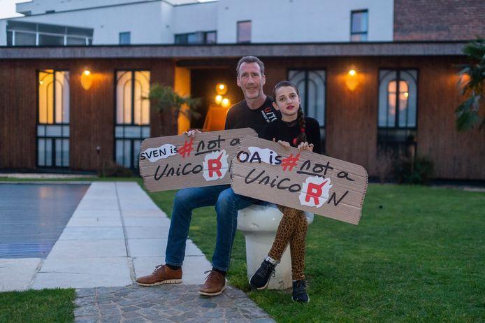 Sven en dochter Oa