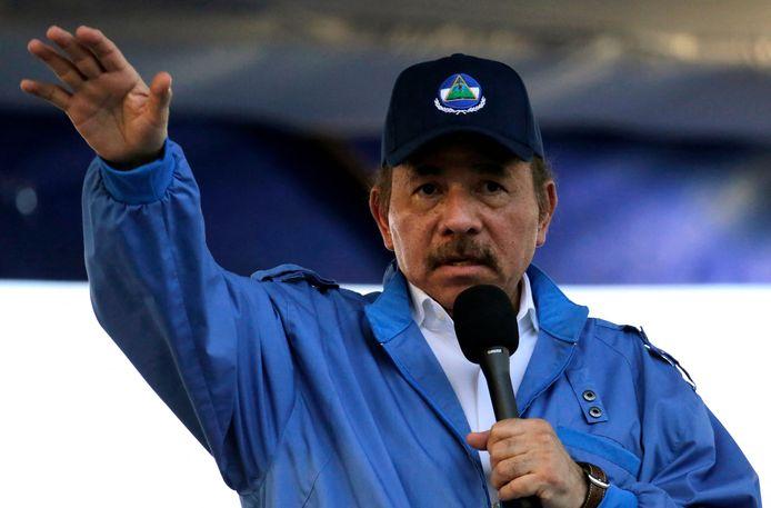 President Daniel Ortega van Nicaragua.