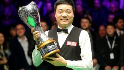 Ding zet naam derde keer op de erelijst van UK Championship snooker