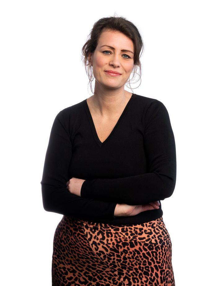 Portret van columnist Linda Akkermans. Foto Joost Hoving