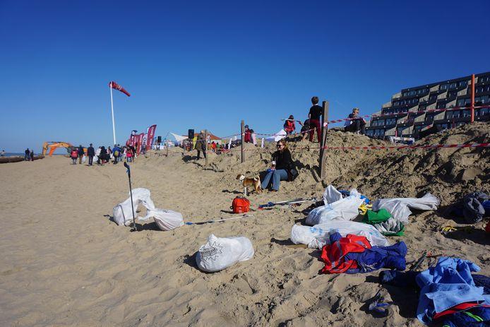 Een beeld van een vorige editie van de Clean Beach Cup