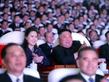 Vrouw van Kim Jong-un voor het eerst in maanden weer in het openbaar verschenen