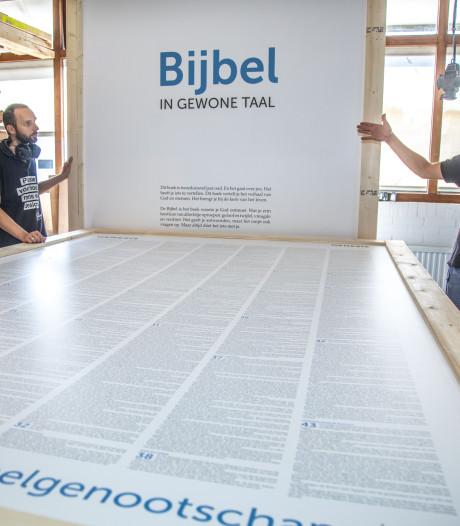 De bijbel op Graceland Festival is zo groot dat iedereen erin past