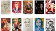 Kunstenaars zetten Amerikaanse senatoren die tegen strengere wapenwetgeving zijn onder druk met radicale portretten