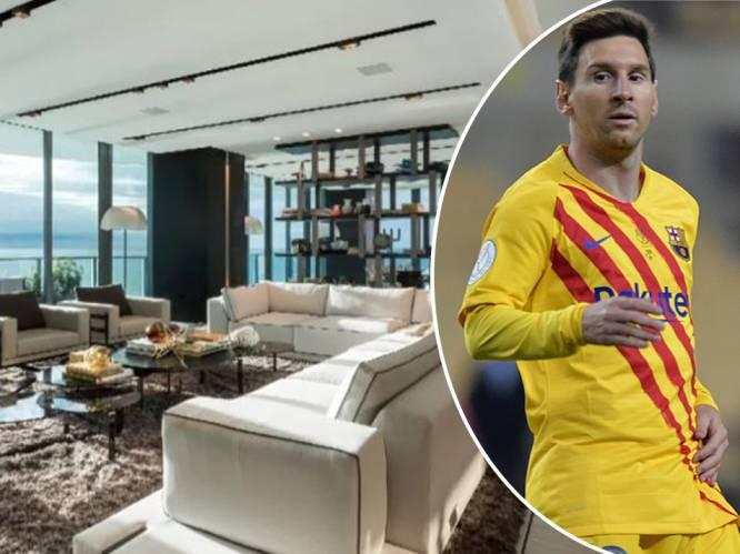 Lionel Messi stilaan vastgoedkoning in Florida: sterspeler koopt er tweede luxeloft voor 6 miljoen euro