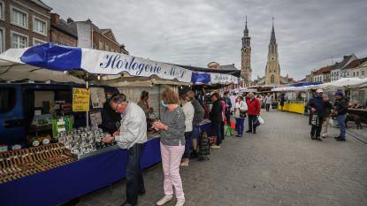 """Haspengouwmarkt opnieuw volledig op Grote Markt: """"Maar veiligheid blijft topprioriteit"""""""