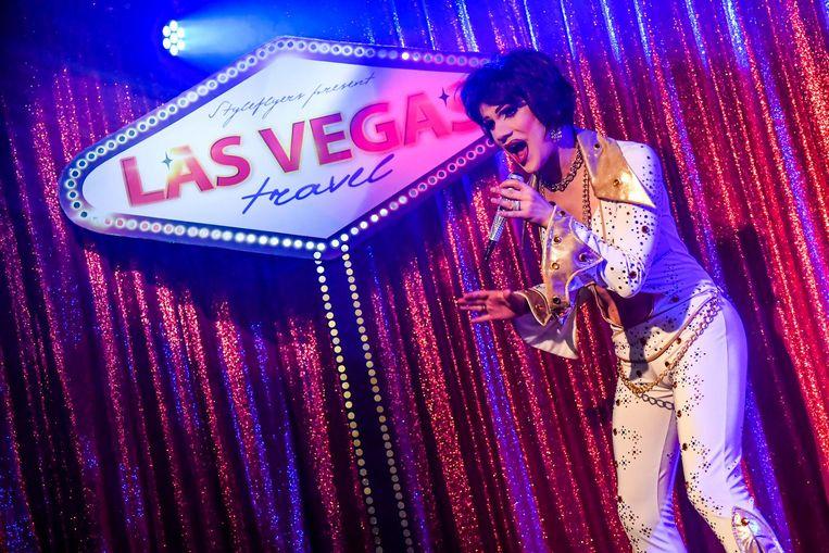 Las Vegas was nooit veraf, dankzij Travestie Ivana.
