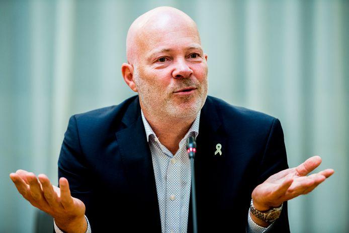 Robert Simons, lijsttrekker voor Leefbaar Rotterdam: 'Dit is natuurlijk geen leiderschap.'