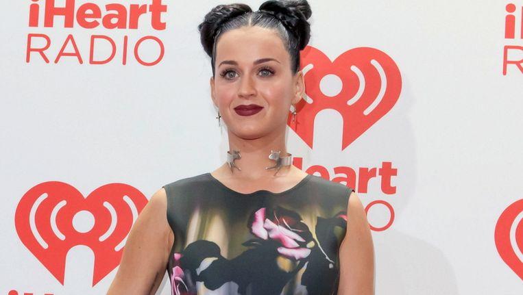 Katy Perry gisteren tijdens het iHeart Music Festival in Las Vegas. Beeld Brunopress
