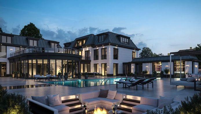 Aan de Baambrugse Zuwe in Vinkeveen staat een villa te koop voor 17,5 miljoen euro